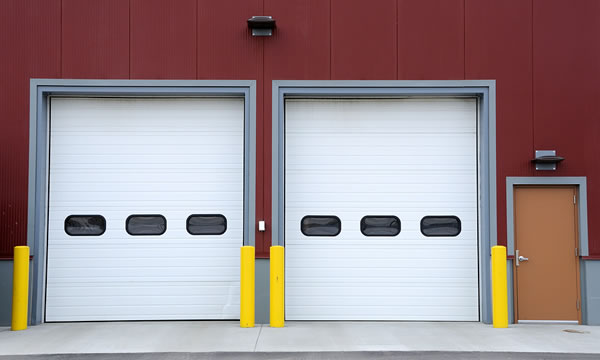 Overhead Sectional Garage Doors : Sectional overhead doors vancouver bc doortech