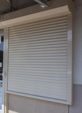 Rolling Security Shutters Vancouver BC