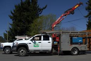 Mobile Crane Truck Service Vancouver BC